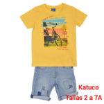 CONJUNT NEN MOD 4108 PREU 19.50€ TALLES 2 A 7 ANYS KATUCO