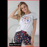 Pijama Massana Samarreta 98%cotó 2%poli Pantaló 100%cotó Preu 23€